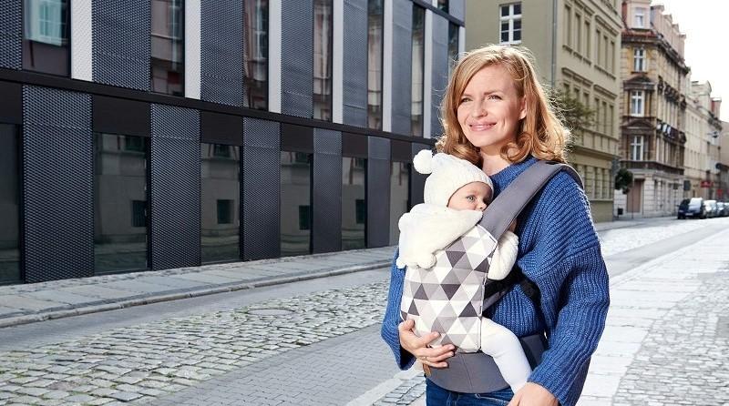 Ергономична раница за бебе