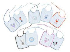 Interbaby бебешки лигавници Приятелчета (6бр/оп)
