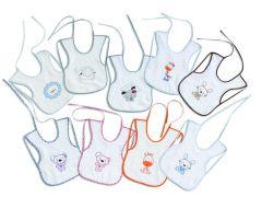 Interbaby Комплект бебешки лигавници 6бр/оп