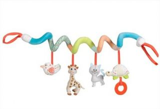 Софи жирафчето мека спирала