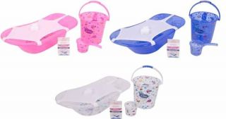 Sevi Baby комплект за къпане 5 части бял
