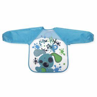 Interbaby бебешки лигавник мантичка, син