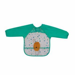 Interbaby бебешки лигавник мантичка, зелен