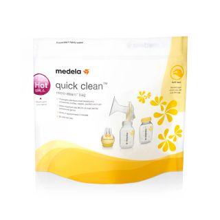 Medela Пликчета за стерилизиране в микровълнова, Quick Clean, 5 бр