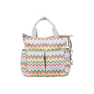 Чанта за количка и бебешки принадлежности Zigzag African Routes