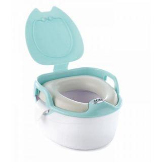 JANE Музикално гърне - тоалетна 3в1 Aquarel Blue