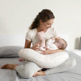 JANE Мултифункционална възглавница за кърмене/спане/хамак, 4в1, Dim Grey