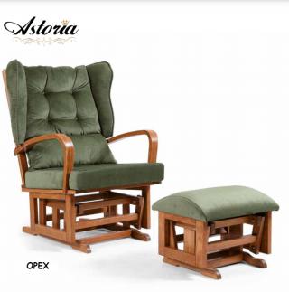 Tahterevalli Стол за кърмене астория Astoria зелен