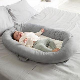 JANE Растящо бебешко гнездо Dim Grey