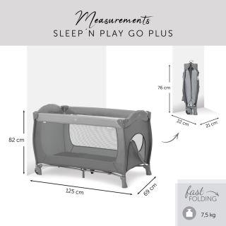 Бебешка сгъваема кошара HAUCK Sleep`n Play Go Plus Grey