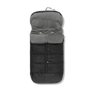 Interbaby универсално зимно чувалче за количка Черно Lux