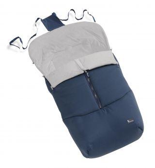 Interbaby универсално зимно детско чувалче за количка Тъмносин