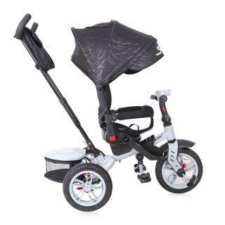 Lorelli Детска триколка/колело 360º Speedy, сив/черен