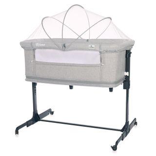Lorelli Бебешка кошара за спане в комплект с комарник