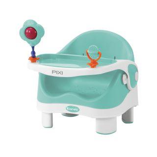 Детско столче за хранене PIXI Lorelli, Зелен/Бял