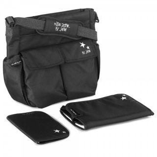 JANE Чанта за бебешка количка с подложка за преповиване МАМА BAG ,черна