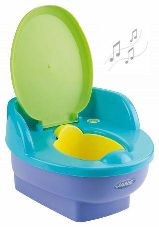 JANE Музикална тоалетна с капак