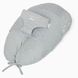 Tuc Tuc Възглавница за спане/кърмене/хамак за новородено 3в1, сив