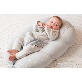 Tuc Tuc Възглавница за спане/кърмене/хамак за новородено 3в1, розов