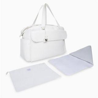 Tuc Tuc чанта за количка, Еко кожа, Бяла