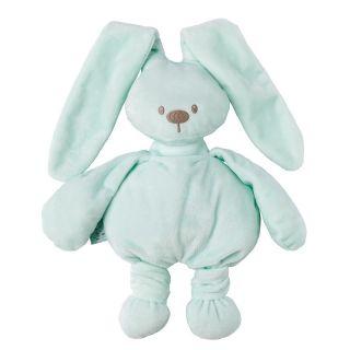 NATTOU Мека играчка Lapidou, Зайче, зелена 36см