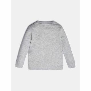 Guess детска блуза Fleece с дълъг ръкав и лого