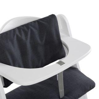 Hauck Комплект за стол Alpha+ и Beta+ , Deluxe Melange Charcoal