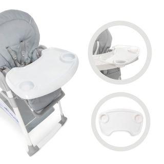 Детски шезлонг, модул и стол за хранене Hauck Sit`n Relax 3в1, Stretch Grey