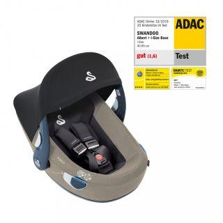 Бебешко столче за кола (0-13кг) Albert i-Size, Swandoo Alfalfa