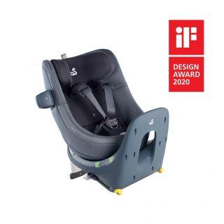 Детско столче за кола Swandoo Marie i-Size 360° (0-18 кг) Sesame Grey