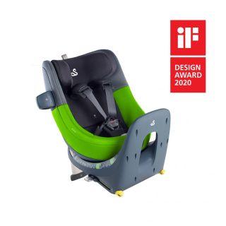 Детско столче за кола Swandoo Marie i-Size 360° (0-18 кг) Lime&Sesame Grey
