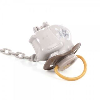 JANE Клипс с кутийка за залъгалка Aquarel Bronze 2в1