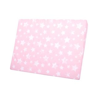 Lorelli бебешка възглавница Air Comfort розови звезди, 60х45х9см