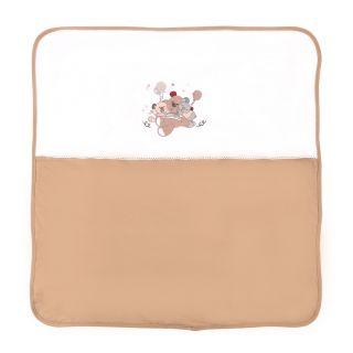 Lorelli Памучна бебешка пелена ZaZa, 90х90см, лате