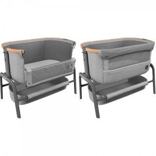 Maxi-Cosi Бебешко кошче с матрак Iora - Essential Grey