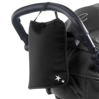 JANE Чанта за бебешка количка с подложка за преповиване МАМА BAG , сива