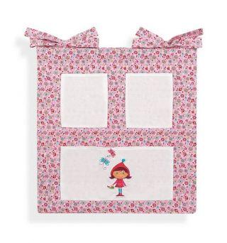 Interbaby oрганайзер за детско креватче Baby Girl, 55x60см