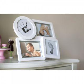 Pearhead Рамка за снимка и отпечатък – колаж – бяла