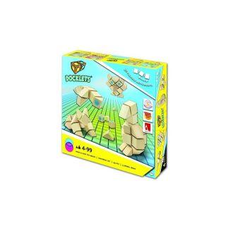3D дървен пъзел с велкро Beluga DOCKLETS 58000
