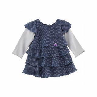 3pommes детска рокля Blue spirit