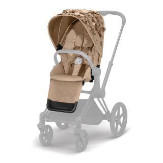 Cybex Simply Flowers тапицерия за детска количка PriamNude Beige
