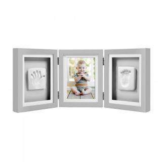 Pearhead Луксозна рамка за снимка и отпечатък - сив