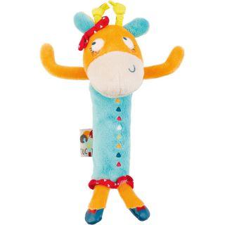 Tuc Tuc Плюшена играчка дрънкалка Жираф African Routes