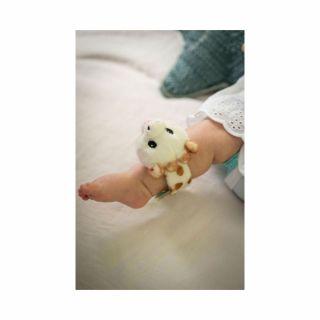 Sweety Sophie Collection Бебешка плюшена дрънкалка - гривна