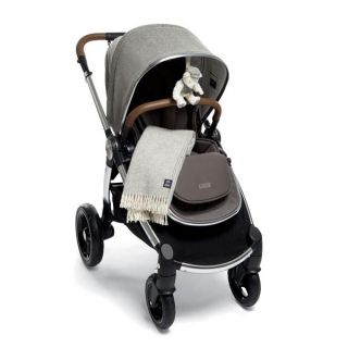 Mamas & Papas Бебешка количка Ocarro X Moon – Grey с играчка мече