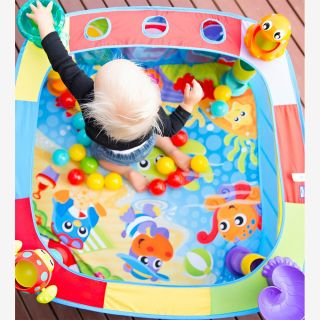 Активна гимнастика басейн с 30 топки 6м+ , Playgro