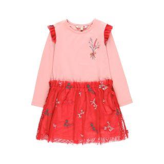 Boboli детска рокля с тюл Ready To Wear