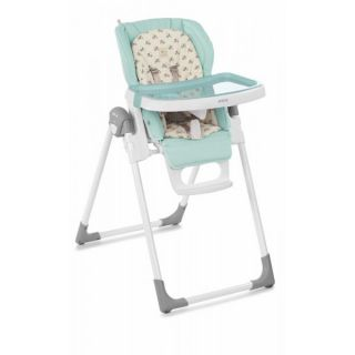 JANE Детски стол за хранене MILA Forest Green