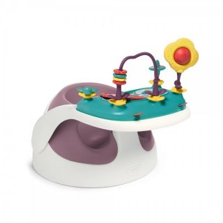 Mamas & Papas Столче Baby Snug с табла с играчки - Dusky Rose