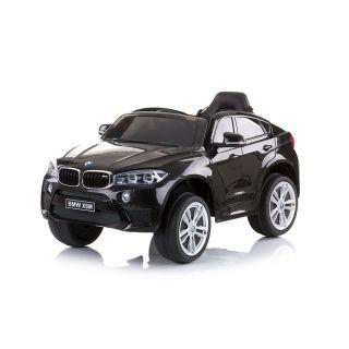 Chipolino Лицензиран акумулаторен джип с дистанционно управление BMW X6 черен
